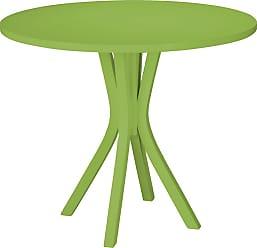 Emexis Mesa de Jantar 4 Lugares Cernon Verde LimãoVerde Limão