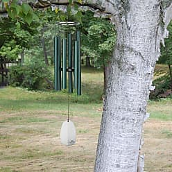 Woodstock Chimes Woodstock Bells of Paradise Medium Rainforest Green Wind Chime - BPMRG
