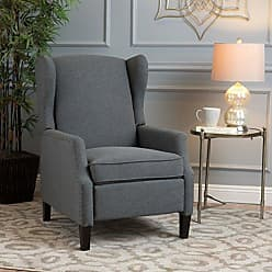 Christopher Knight Home 300600 Welsey Recliner Chair, Charcoal