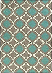 Kaleen Rugs Spaces Collection SPA04-82 Light Brown Hand Tufted Rug, 3 x 5