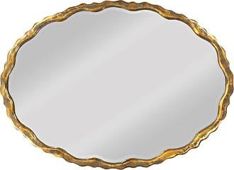 Zentique Aime Wall Mirror - 34.75W x 25H in. - EZT150765