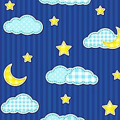 Lar Adesivos Papel de Parede Infantil Estrelas Adesivo Lavável N4163