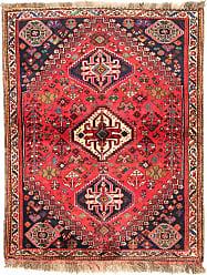Nain Trading Ghashghai Rug 52x40 Modern/Design Dark Grey/Pink (Hand-Knotted, Wool, Iran/Persia)
