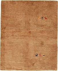 Nain Trading Persian Gabbeh Rug 44x37 Brown/Orange (Hand-Knotted, Iran/Persia, Wool)