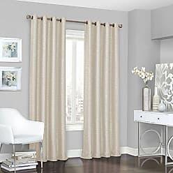 Ellery Homestyles KOZDIKO Eclipse Blackout Curtains for Bedroom - Presto 52 x 84 Insulated Darkening Single Panel Grommet Top Window Treatment Living Room, Ivory