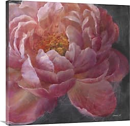 Global Gallery Vivid Floral I Crop Giclee Canvas Wall Art - GCS-472047-3636-142