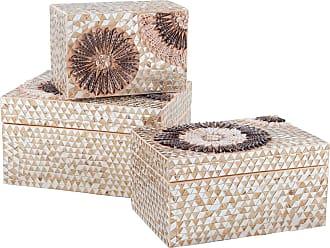 Dimond Home Large Capiz Shell Urchin Box