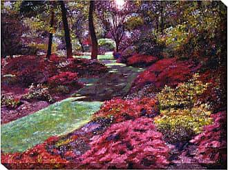 West of the Wind Azalea Park Indoor/Outdoor Canvas Art - OU-80619