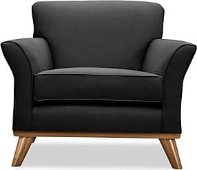 SOUTH CONE Frank Lounge Chair Charcoal - FRANLOCH/CHARCOAL