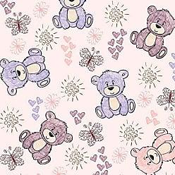Lar Adesivos Papel de Parede Infantil Ursinhos Bebê Adesivo Ursos N4421