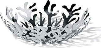 Alessi Mediterraneo 11-1/2-Inch Fruit Holder, Stainless Steel