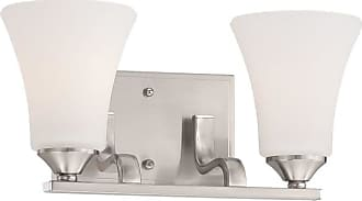 Thomas Lighting TV0019 Treme 2 Light 14 Wide Wall Sconce with Glass