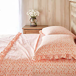 The Pioneer Woman 300 Thread Count Calico Floral Sheet Set by The Pioneer Woman Coral, Womens, Size: Queen - 652E7F1DA691459082C518893B22A326