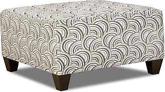 United Furniture Simmons Upholstery Basta Cocktail Ottoman Pumice - 6485-097 BASTA PUMICE