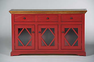 Eagle Furniture Shelter Bay 55 in. Credenza Concord Cherry - SB321755AGCC