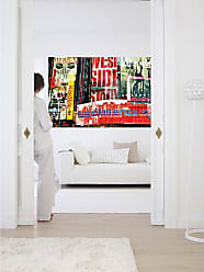 Ideal Decor Times Square Neon Stories Wall Mural - DM642