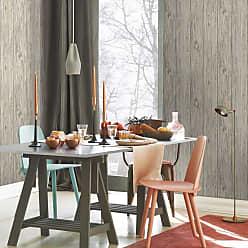 RoomMates Mushroom Wood Peel and Stick Wallpaper Brown - RMK9088WP