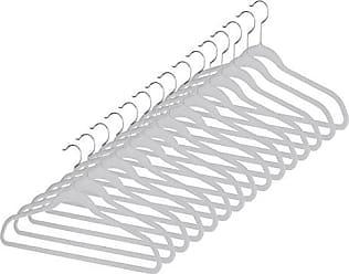 Set of 5 Whitmor Sure-Grip Plastic Hangers