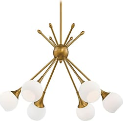 George Kovacs P1806-248 6 Light 1 Tier Chandelier in Honey Gold from the