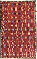 Nain Trading Oriental Baluch Rug 63x311 Brown/Orange (Wool, Afghanistan, Hand-Knotted)