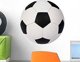 Wallmonkeys Soccer Ball 12 W x 8 H Wall Decal Peel and Stick Graphic