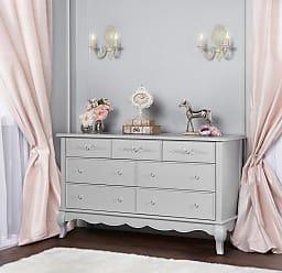 Évolur Aurora 7 Drawer Double Dresser Blush Pink Pearl - 833-BL