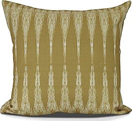 E by Design E by design PG863YE22-16 Peace 1 Decorative Geometric Throw Pillow 16 Gold