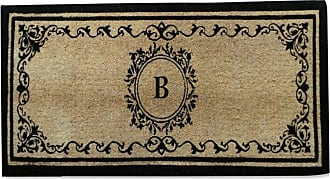 First Impression Monogrammed Double Outdoor Door Mat - A1HOME200061-A