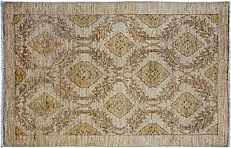 Solo Rugs Hand Knotted Area Rug 310 x 63 Beige