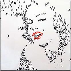 Omax Decor OMAX Decor Marilyn Monroe In 3d Wall Art - M 3146
