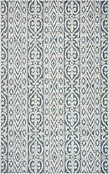 L.R. Resources Inc. LR Home SUNSH81242BGN5080 Sun Shower Indoor/Outdoor Area Rug, 5 x 8, Blue/Green