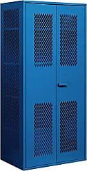 Salsbury Industries Military Combination Storage Cabinet, Blue