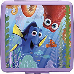 Zak designs Finding Dory Reusable Sandwich Container, Purple
