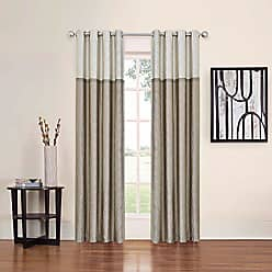 Ellery Homestyles Eclipse Arno Thermal Blackout Panel, 52 x 63, Latte
