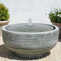 Campania International Girona Outdoor Bird Bath Fountain - FT-102-NA
