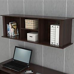 Inval America America RE 0732 Wall Mount Bookcase/Storage Hutch - RE-0732
