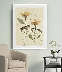 WEXFORD HOME Pressed Daisies Gallery Wrapped Canvas Wall Art, 16x20