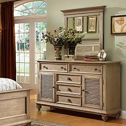 Riverside Furniture Riverside Coventry 5 Drawer Dresser - Weathered Driftwood - RVS1704-1
