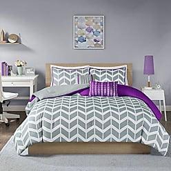 INTELLIGENT DESIGN Nadia Comforter Set, Twin/Twin XL, Purple