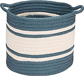 Colonial Mills Outland Basket, 20x20x18, Blue