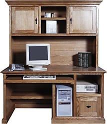 Forest Designs Customizable Mission 1061 Computer Desk - 1061-M
