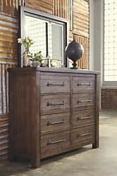 Ashley Furniture Starmore Dresser and Mirror, Brown