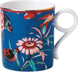 Wedgwood Paeonia Mug - Blue