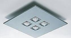 Zaneen Polifemo 4-Light Square Flushmount