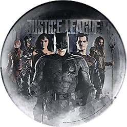 Zak designs Justice League 10in Durable Melamine Plate, Justice League Part 1