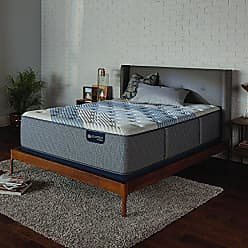 Serta Icomfort 500821331-1070 Hybrid 15 Blue Fusion 3000 Firm Conventional Bed Mattress, California King, Gray
