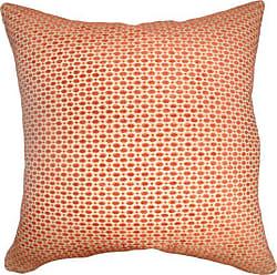 The Pillow Collection The Pillow Collection Verdon Net Pillow, Tangerine