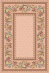 Milliken Carpet Milliken 4000031815 Pastiche Collection Kerri Area Rug, 54 x 78 Oval, Ecru