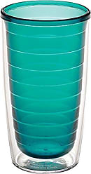 Trevis Tervis 1037254 Clear & Colorful Insulated Tumbler, 16 oz Tritan, Emerald