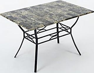 Boraam 77013 Bastian Dining Table, Marble